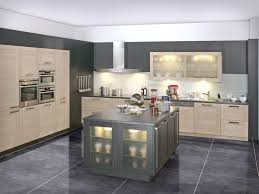 interesting grey kitchen design ideas with white tile design and best lighting