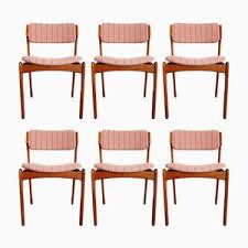 teak dining chairs by erik buch for oddense maskinsnedkeri 1960s set of 6