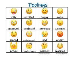 Feelings Chart Emoji Emoji Feelings Worksheets Teaching Resources Tpt