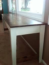 ana white narrow farmhouse table diy projects narrow farm table new