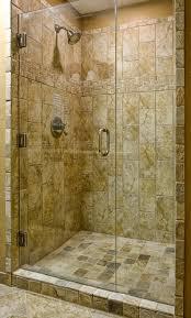 Handicap Tile Shower Designs Bathroom Modern Shower Remodeling With White Marble Wall