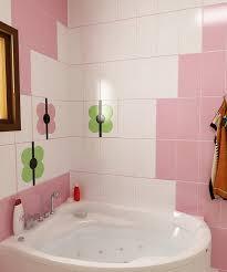 Bilder 3d Interieur Badezimmer Grün Rosa Ral Fete 10
