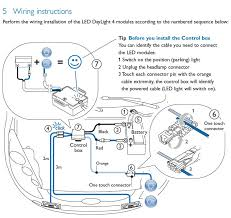 wiring diagram for led daytime running lights the wiring diagram anybody tried the philips luxeon led dlr on their ody wiring diagram