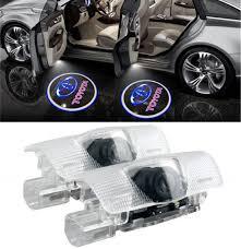 Prius Pcs Light Wfb Toyota Sequoia Easy Installation Car Door Led Logo Projector Light 2 Pcs Set