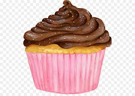 Cupcake Muffin Ganache Chocolate Pink Cupcakes Png Download 590