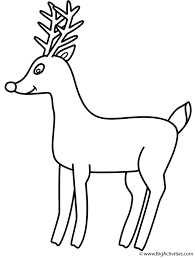 Small Picture Rudolph the Red Nosed Reindeer Coloring Page Christmas