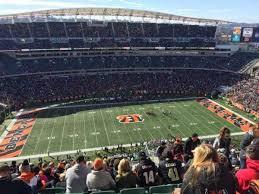 Paul Brown Stadium Section 342 Home Of Cincinnati Bengals