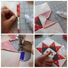 Quarter Square Triangle Tutorial The Crafty Quilter Learn