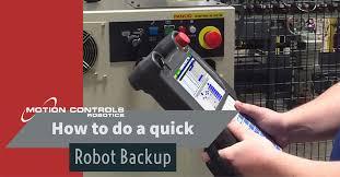 robot backup