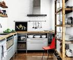 Стеллажи на кухне фото