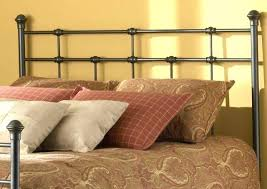 King Size Metal Headboard And Footboard King Bed Frame With ...
