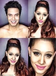 makeup artist to follow on insram male tv host man makeup artist insram