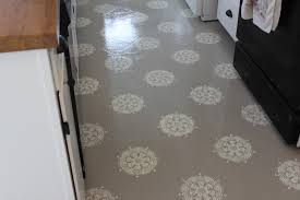 Painting Linoleum Kitchen Floor A Warm Conversation Work With What You Got Painted Kitchen Floors