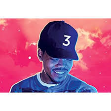 chance the rapper coloring book poster 36