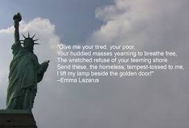 Statue Quotes Classy Give Me Your Poor Statue Of Liberty Quote Google Search Humanity