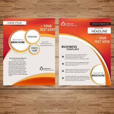 Free Download Brochure Ai Professional Business Brochure Templates Vector Free