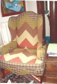 when i moved from minnesota to california last year i gave away or sold quilts i had made over the years a good friend of mine had two chairs upholstered