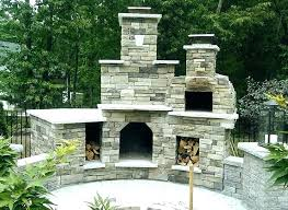 outdoor fireplace pizza oven the plaza family wood fired in new cost out combo combination