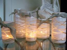 Mason Jars Decorated With Twine DIY 100 Cool Household Crafts to Make with Twine Inhabitat 73