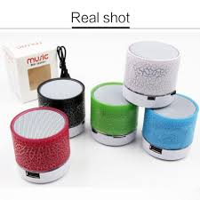 Light Up Radio Us 4 39 15 Off Colorful Led Light Up Mini Bluetooth Speaker Portable A Wireless Bluetooth Small Radio With Usb Music Flash Speaker Tf Card In