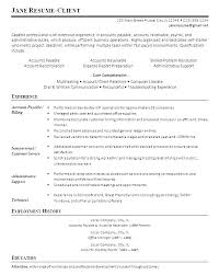 Account Receivable Resumes Accounts Payable And Receivable Resume Englishor Com