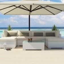 white outdoor furniture. uduka outdoor sectional patio furniture white wicker sofa set diani off all weather couch foter