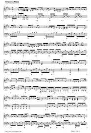 スターラブレイション ラストシンデレラ主題歌無料の楽譜五線譜両手