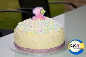 Kids Rainbow Birthday Cake Kidz Activities