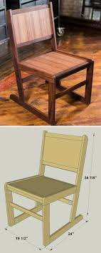 how to build a diy dining room chair free printable project plans at buildsomething