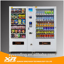 Candy Bar Vending Machine Classy Xy Combo Drinks Snacks Vending MachineComestic Vending Machine