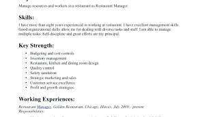 Restaurant Cashier Resume Sample Sample Resume For Cashier In ...