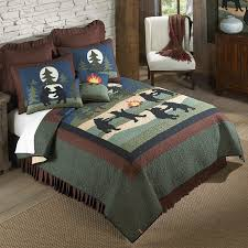 dancing bears quilts throws shams pillows and accessories by donna sharp