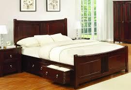 Solid Wood Bedroom Furniture Uk Oak Curlew Wooden Bed