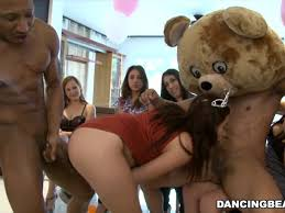 Cfnm with bear strippers