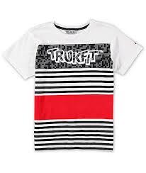 Trukfit Boys Stripe T Shirt