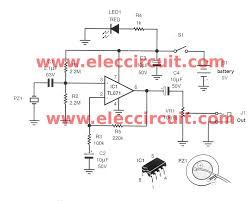 acoustic guitar pickup circuit using tl071 eleccircuit com acoustic guitar pickup circuit using tl071