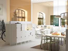 ikea office. A Medium Size, White And Beige Office With Practical, Lockable, HÄLLAN Storage Cabinets Ikea