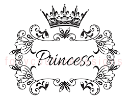 Small Picture Good Princess Crown Coloring Pages 48 For Your Seasonal Colouring