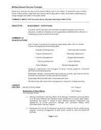 Military Experience On Resume Samples Transition Curriculum