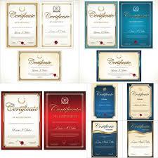 Векторный клипарт Сертификаты и дипломы eps no  Векторный клипарт Сертификаты и дипломы eps