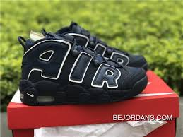 Girls Volcanic Nike Air More Uptempo Gs Navy White Discount
