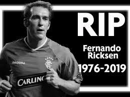 Fernando Ricksen dead: Former Rangers star passes away after battle with  motor neurone disease - Mirror Online