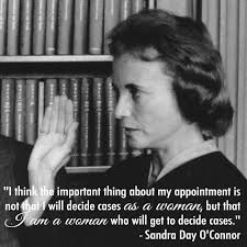 「In 2005, the retirement of Supreme Court justice Sandra Day O'Connor,」の画像検索結果