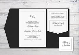 Wedding Invitation Folder Digital Wedding Invitation Printable Invitation Pocketfold