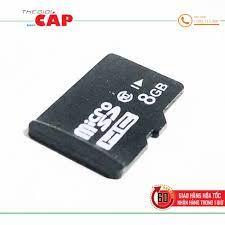 Thẻ Nhớ Micro SD Dung Lượng 8GB Class 10 Cao Cấp - Thẻ nhớ máy ảnh Nhãn  hàng No Brand
