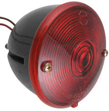 how to wire the peterson round trailer tail light 431800 using peterson round trailer tail light 2 stud mounting right hand