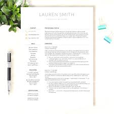 Top Modern Resume Template Word Creative Cv Doc Best And Apple Pages