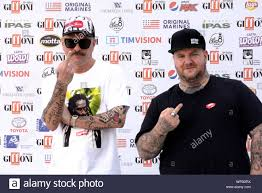 Giffoni Valle Piana, Sa, Italy - July 21, 2019 : Don Joe and Jake La Furia  at Giffoni Film Festival 2019 - on July 21, 2019 in Giffoni Valle Piana, It  Stock Photo - Alamy