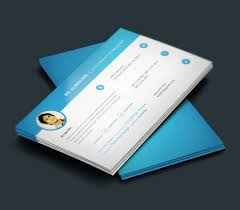 business card resumes