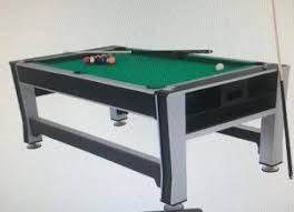 3 Tables in 1 (Billiards/Air Hockey/Table Tennis) | The Loop